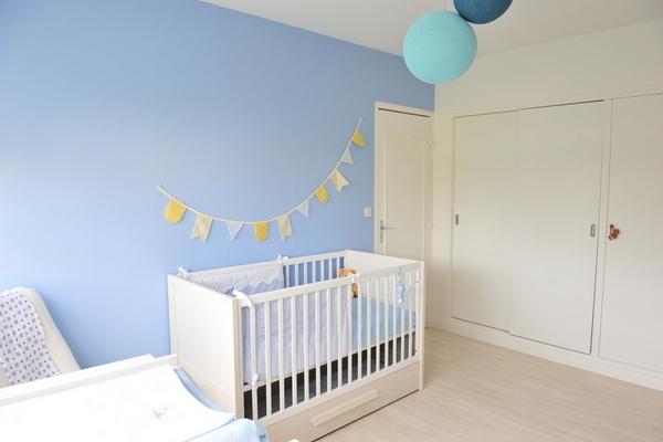 La chambre de louis odrai et louis for Guirlande pour chambre bebe