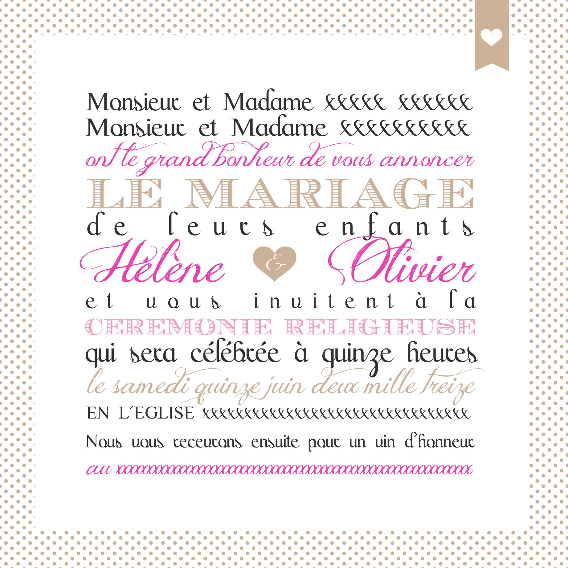 Souvent Papeterie de mariage - Odrai et Louis SX34