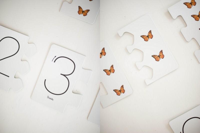 chiffres, montessori, rugueux,