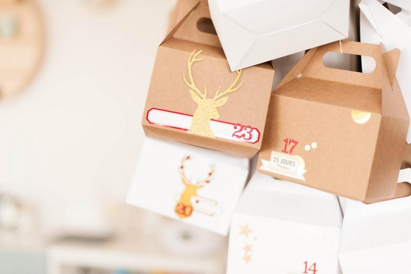 selfpackaging, calendrier de l'avent , odrai, louis, scrapbooking