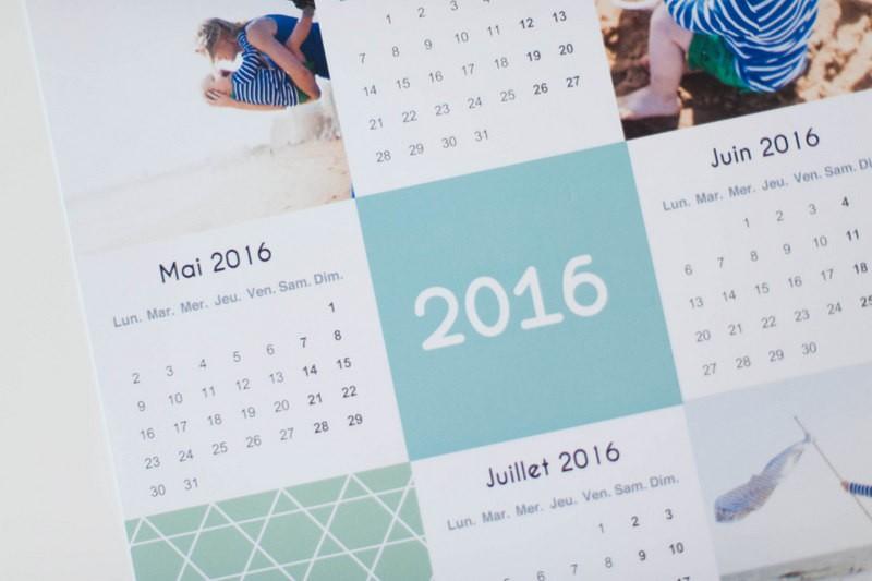 carteland, calendrier 2016, test, calendrier personnalisé