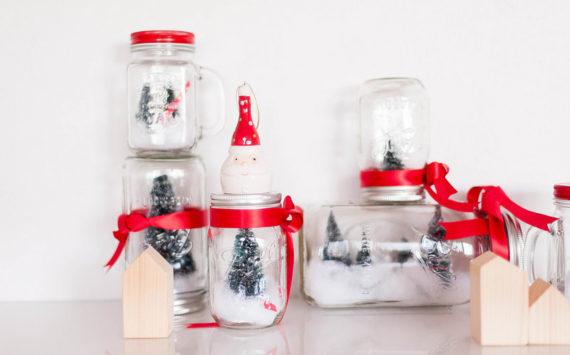 Mason Jar de Noël