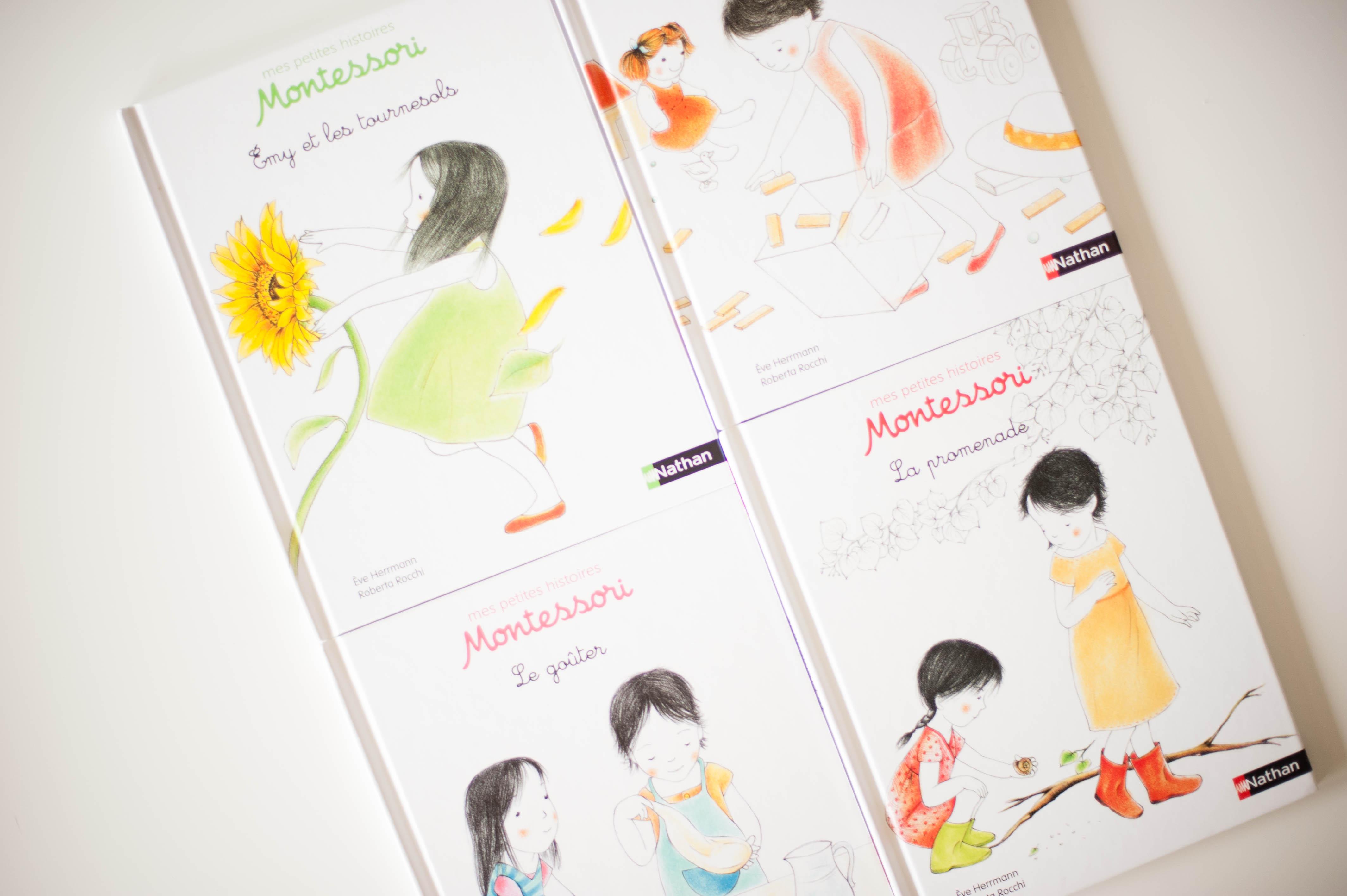 Livre enfants – Mes petites histoires Montessori