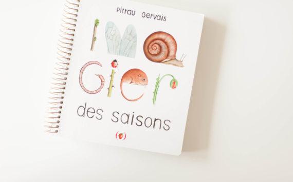 Livre enfants – L'imagier des saisons
