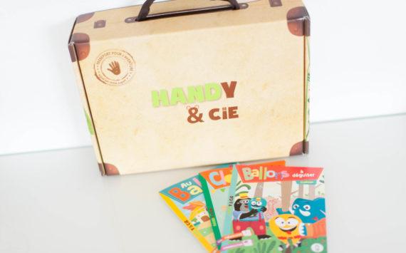 Handy&Cie – le coffret 3-6 ans – janvier 2016