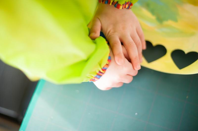 odrai-scrapandphoto.fr, DIY, fête des mamies, tableau, peinture, coeur, enfant