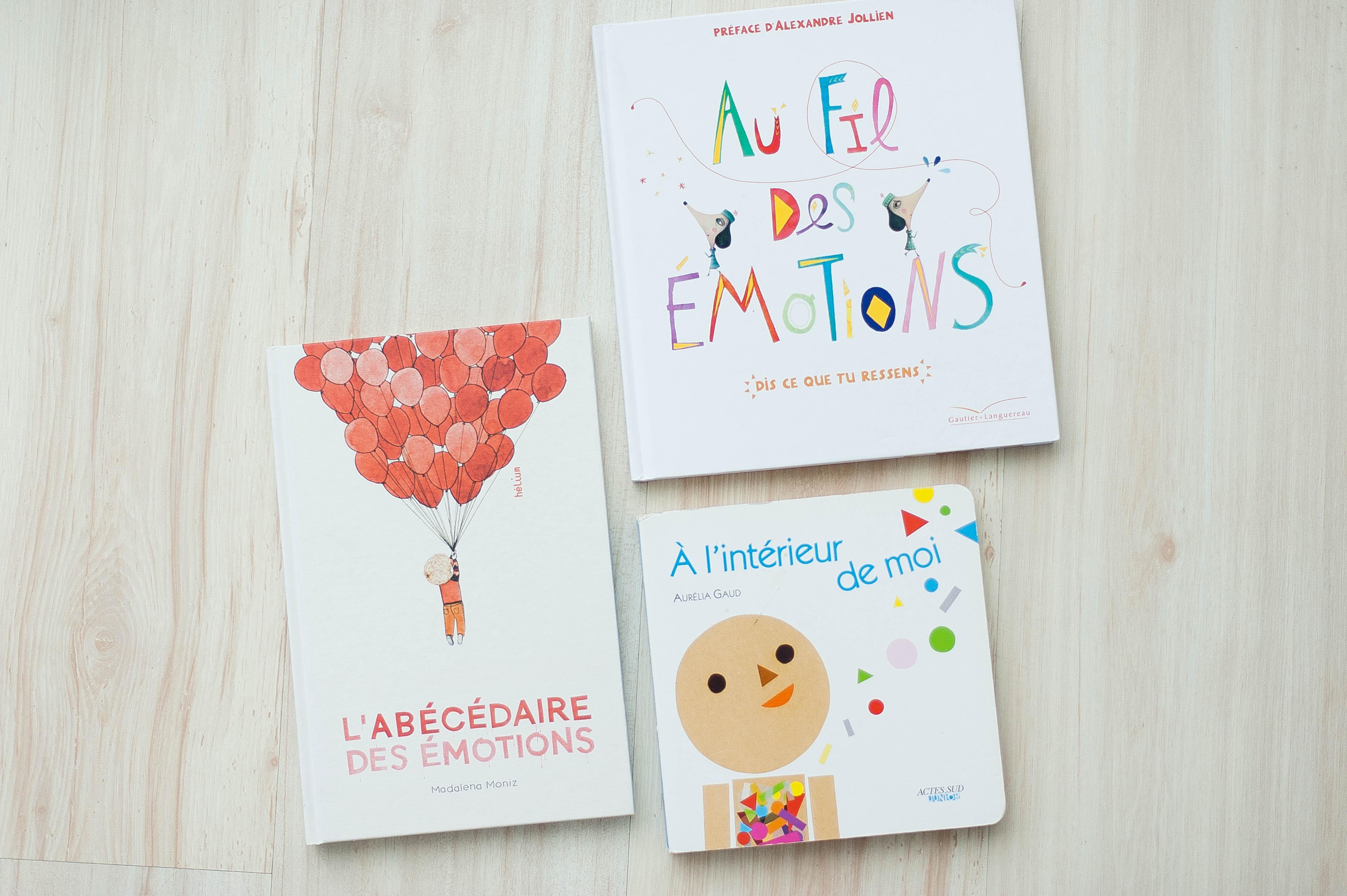 Nos livres sur les émotions