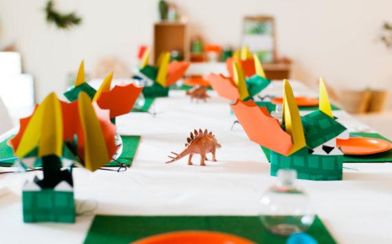 Les activités de la Dino-party de Louis