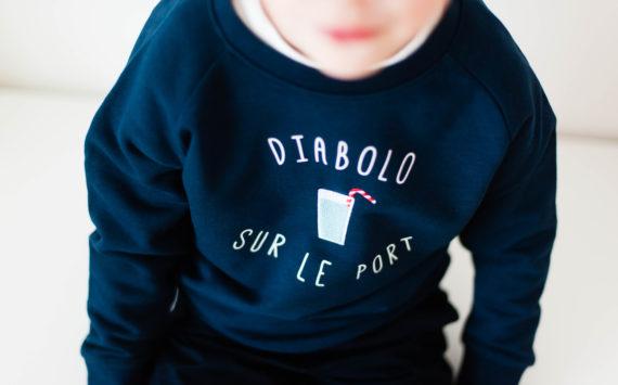 Le sweat Dandy Breton de Louis