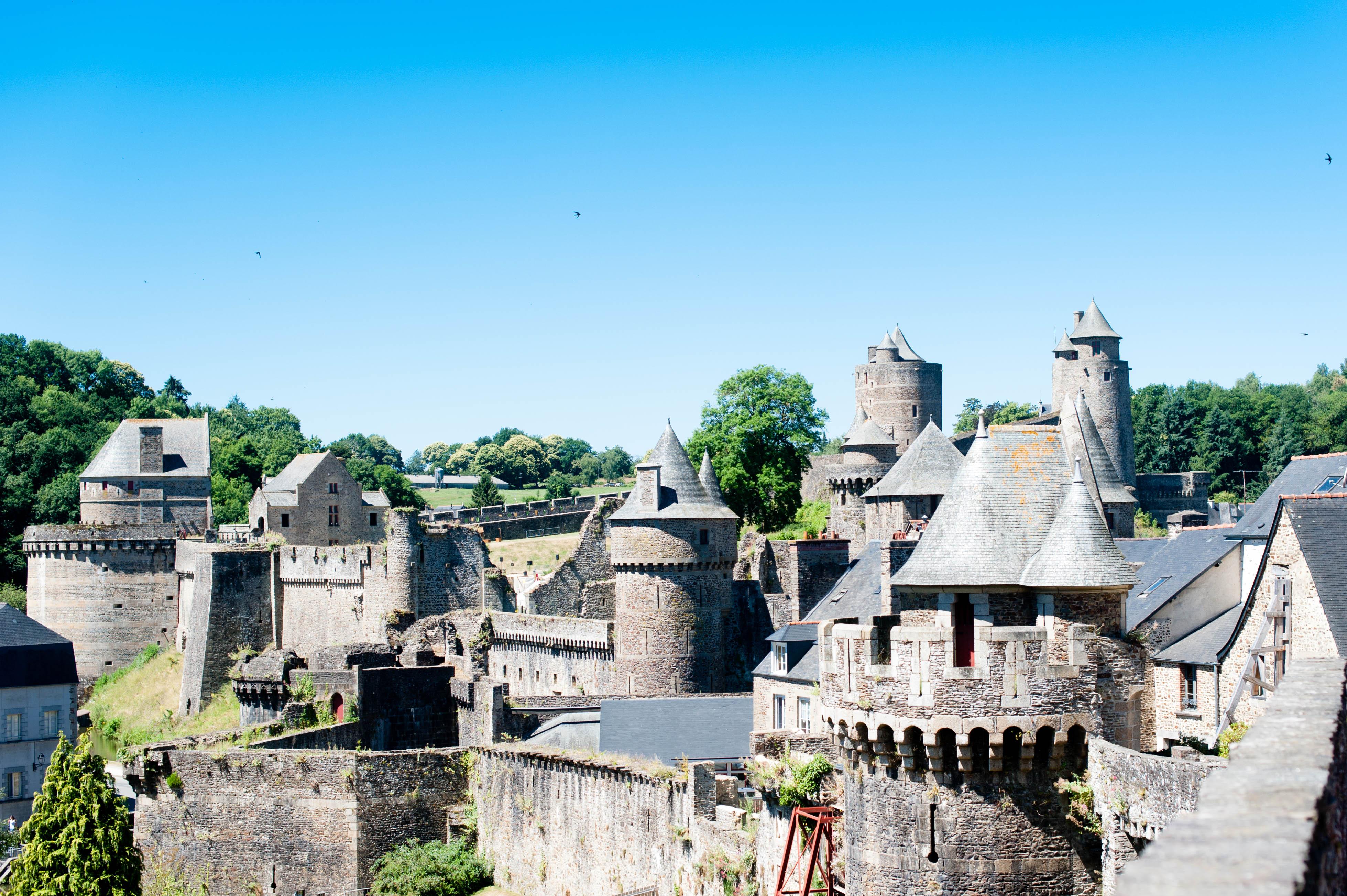 Notre visite au château de Fougères