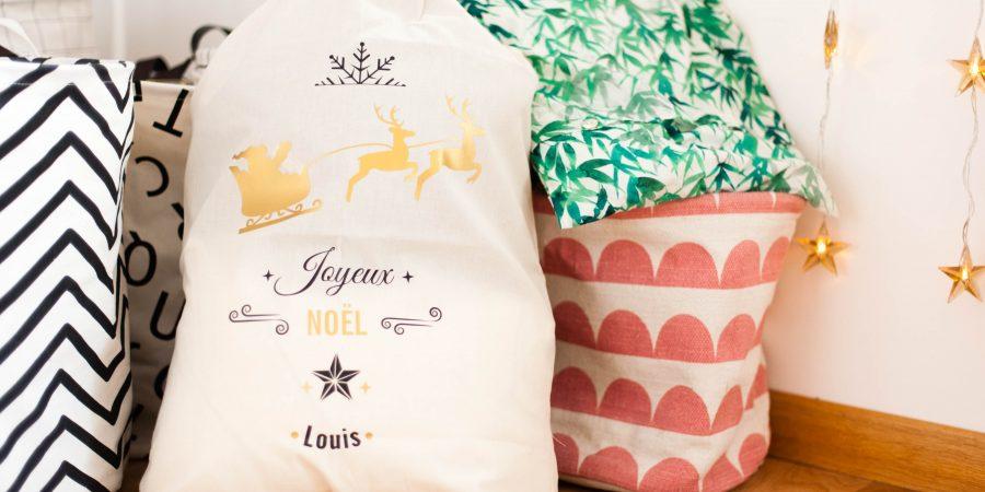 Extrêmement Little Boudoir - Le sac de noël personnalisé de Louis (concours  IZ84