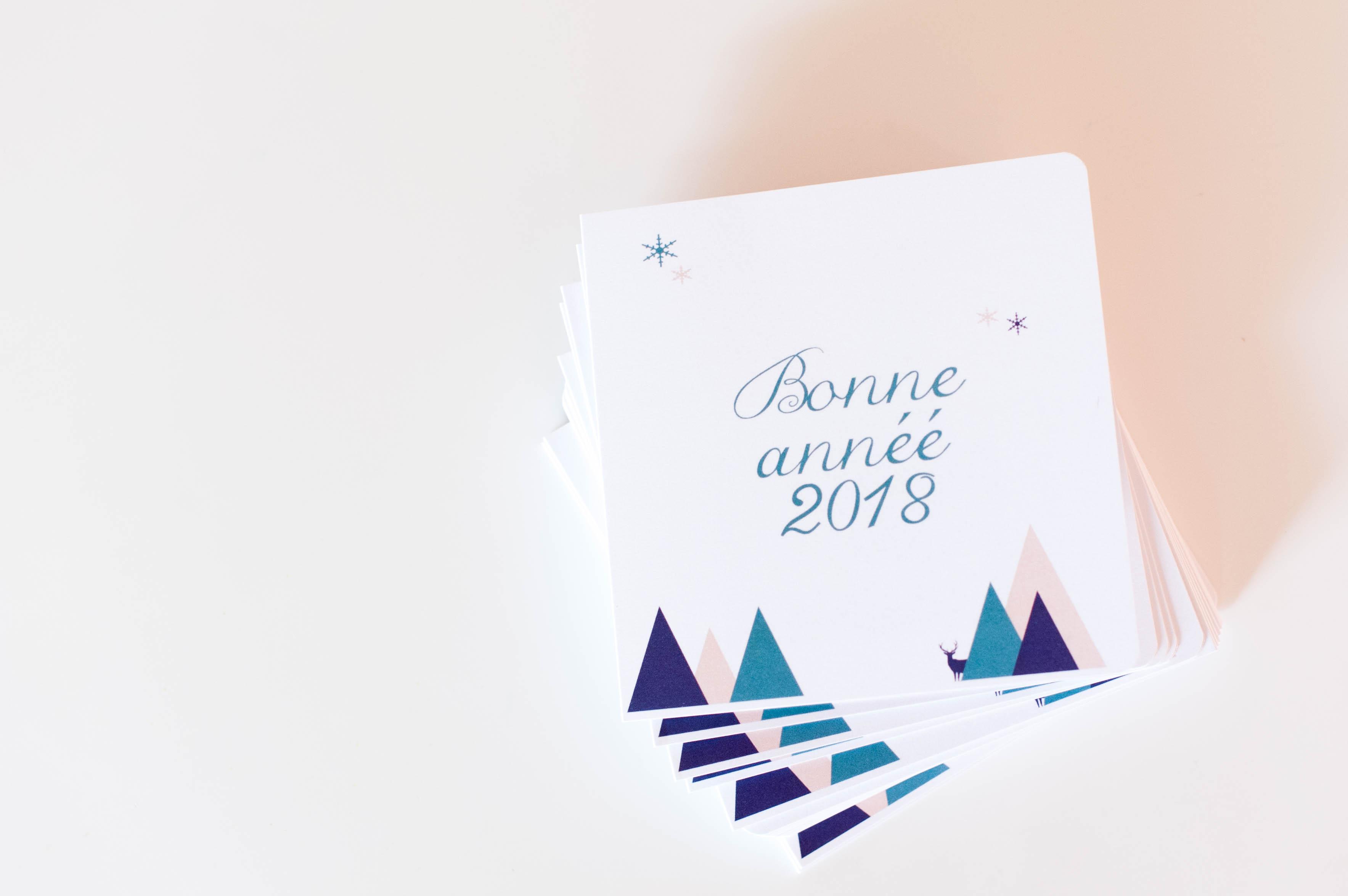 Nos cartes de voeux 2018
