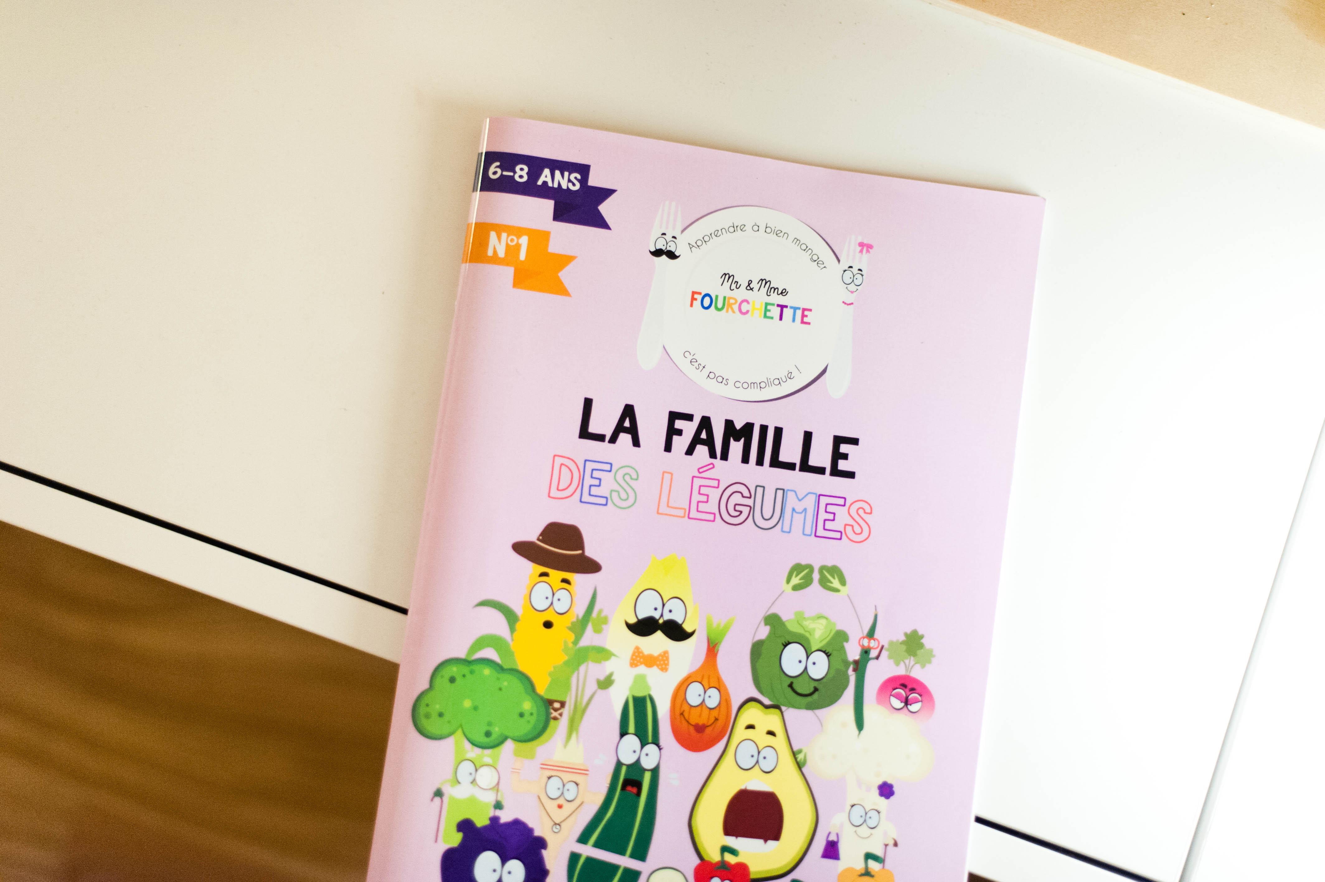 Mr et Mme Fourchette – La famille des légumes