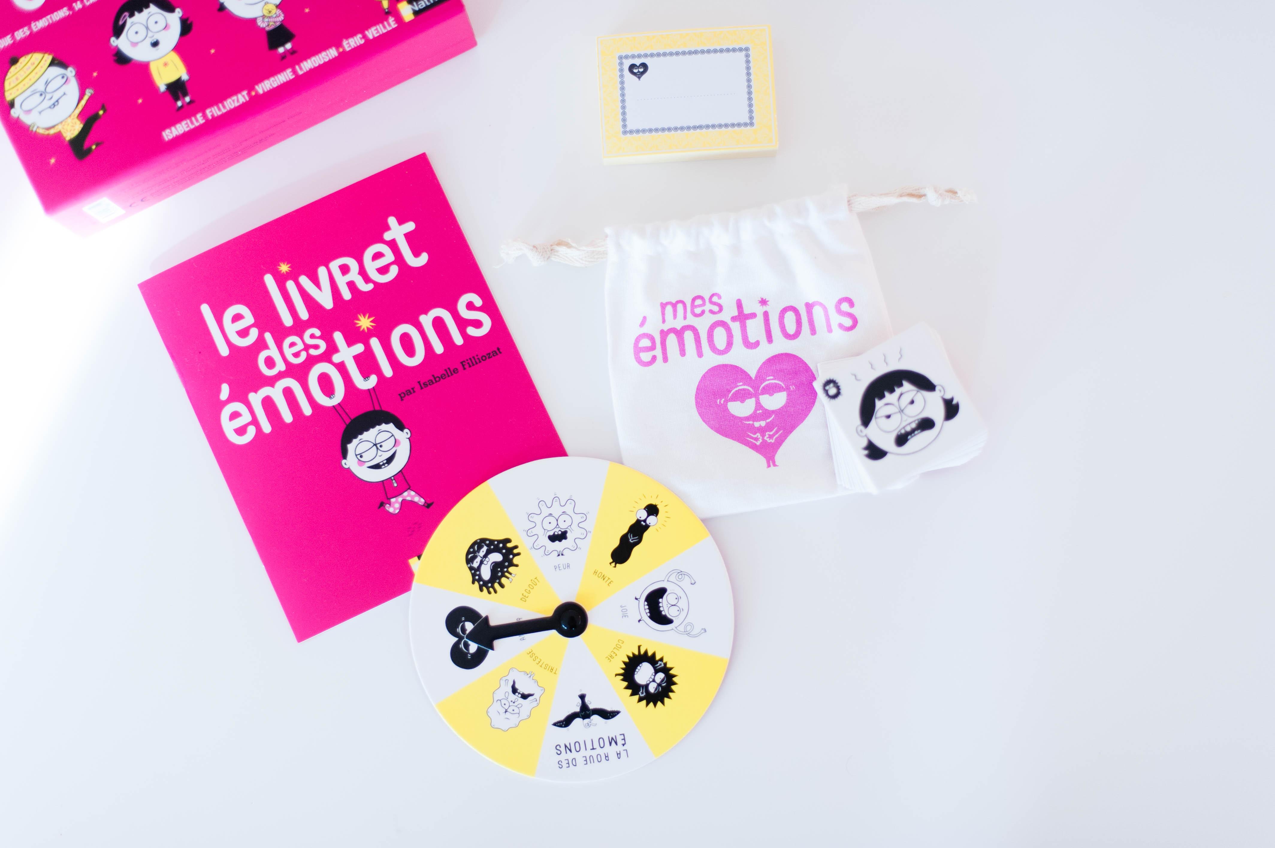 Les jeux Filliozat – Mes émotions