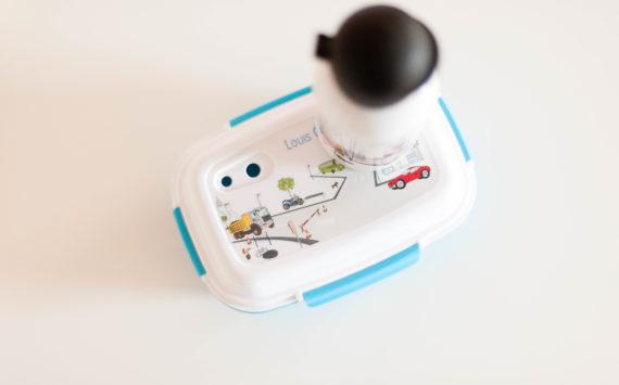 Lunch box et gourde personnalisées – C-MonEtiquette