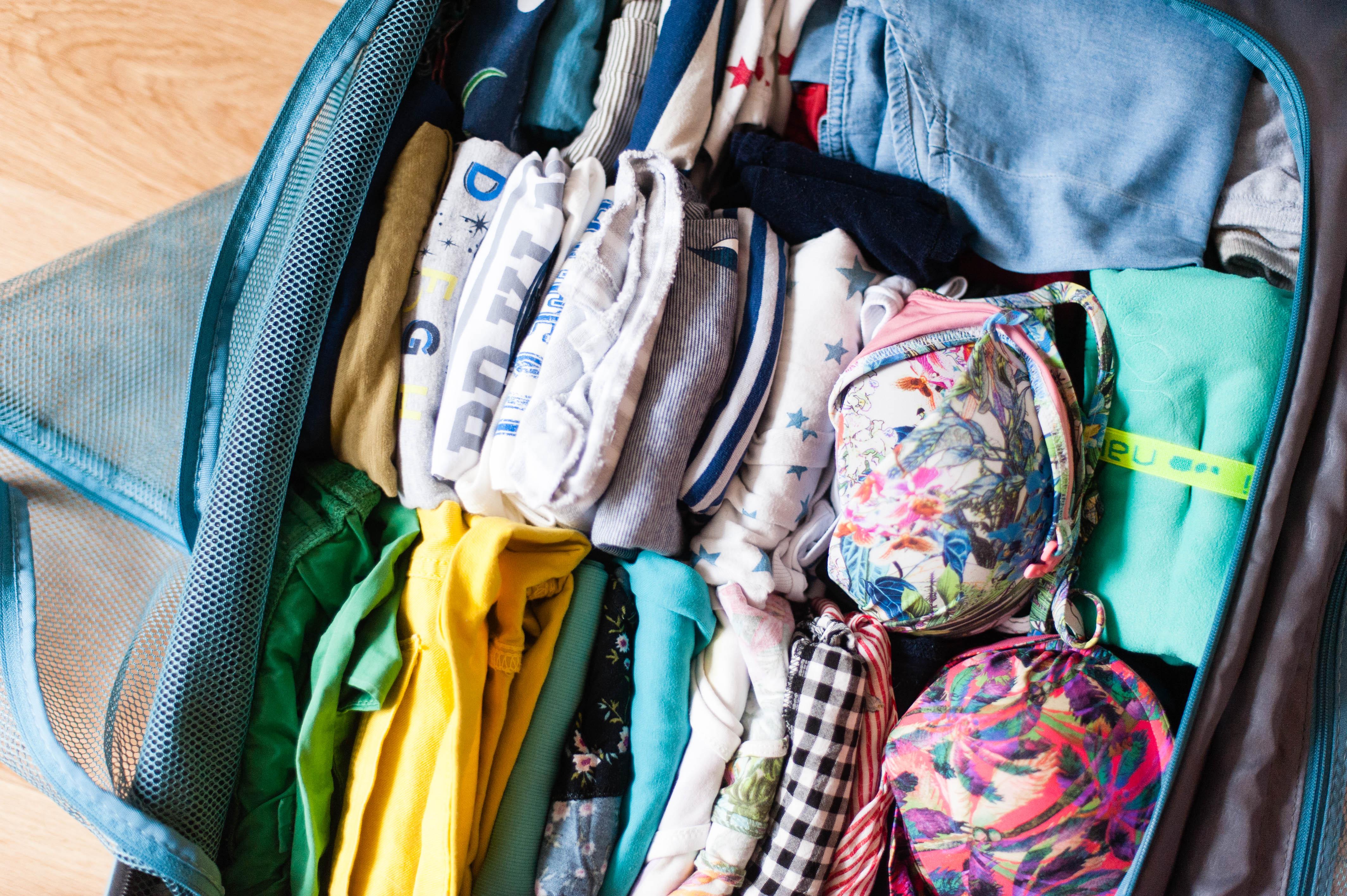 Mes astuces pour voyager avec un enfant – préparer nos bagages