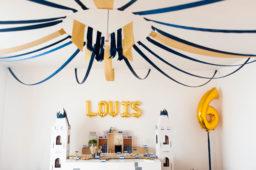 L'anniversaire chevaleresque de Louis