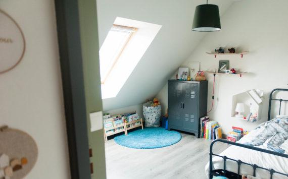 La nouvelle chambre de Louis – kaki / skate-board