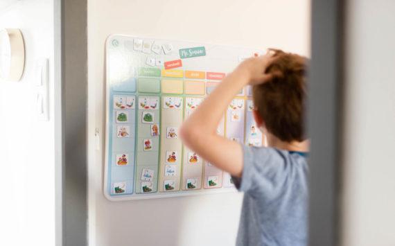 Ouikili – le calendrier enfant personnalisable