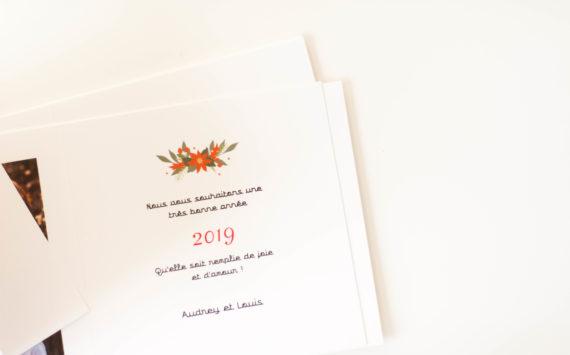 Nos cartes de voeux 2019