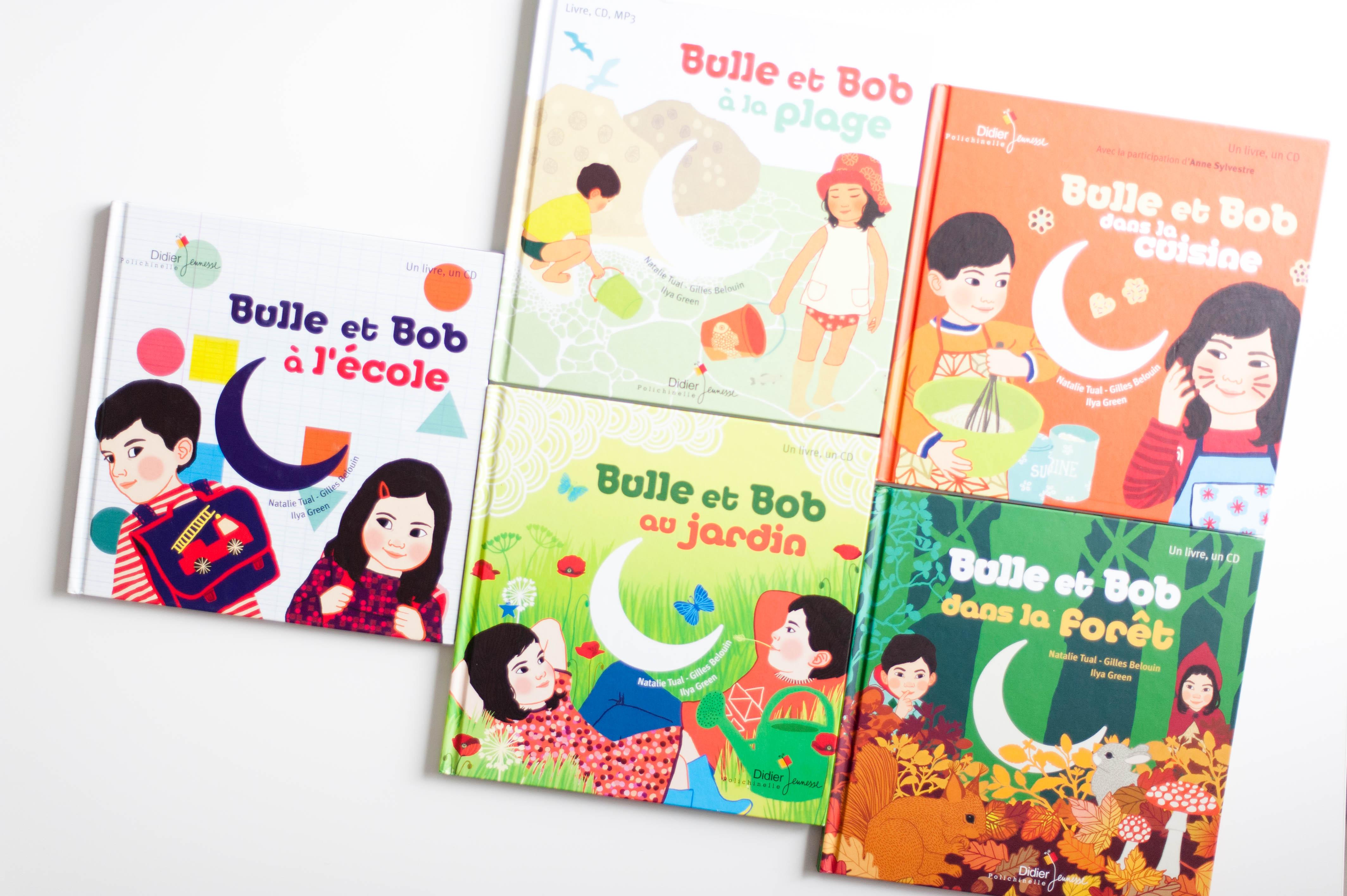 Bulle et Bob – les livres CD