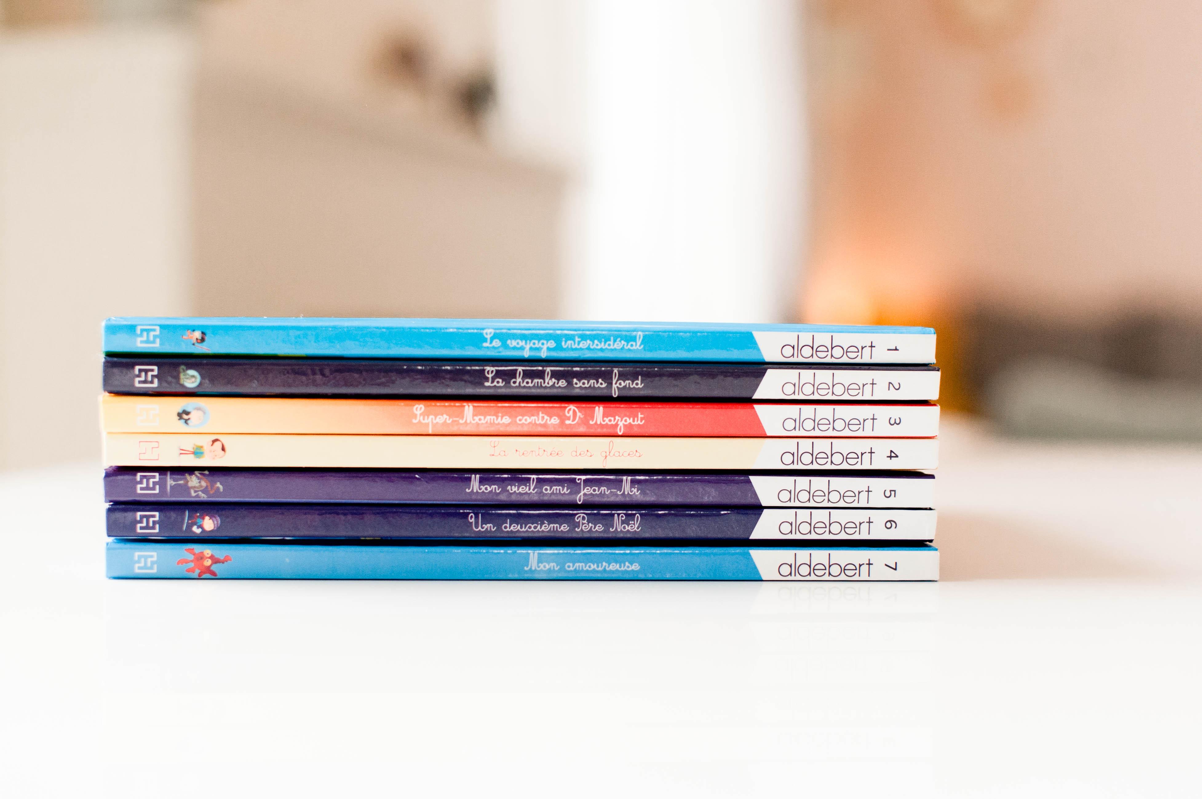 Les livres CD d'Aldebert