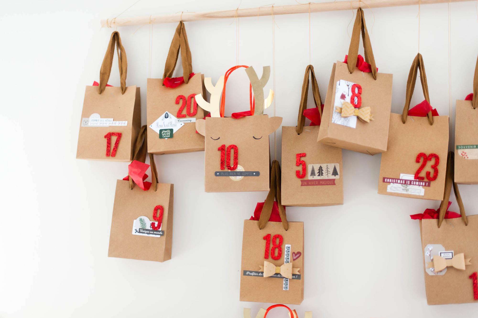 calendrier de l'Avent - DIY