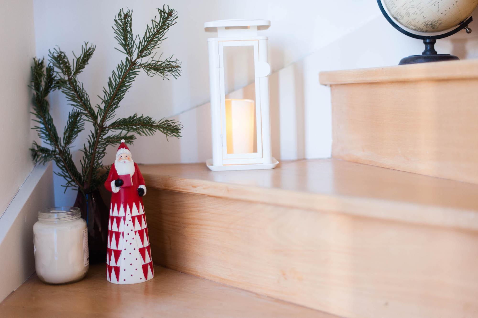 déco de Noël - rouge vert