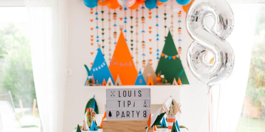 tipi-party loin de sa famille