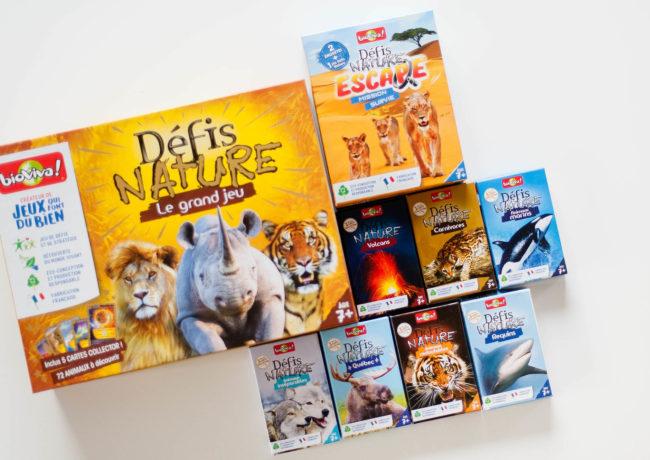 Les jeux Défis nature – Bioviva